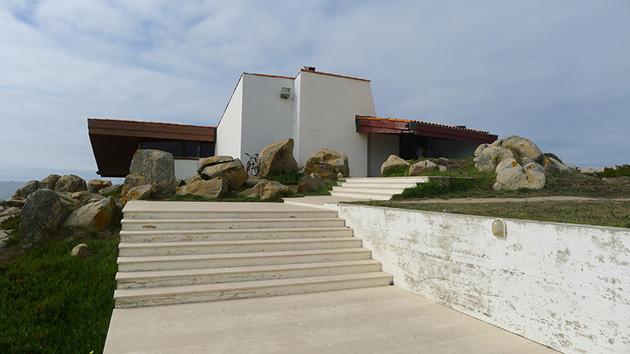 02 Restaurante Casa de Té Boa Nova. Acceso al edificio