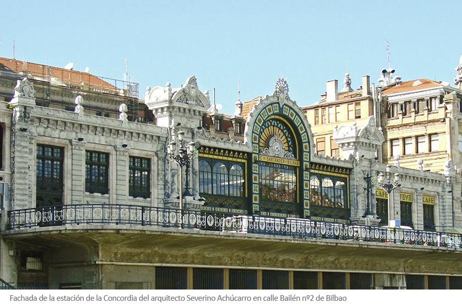Estación de la concordia Severino Achucarro Bilbao