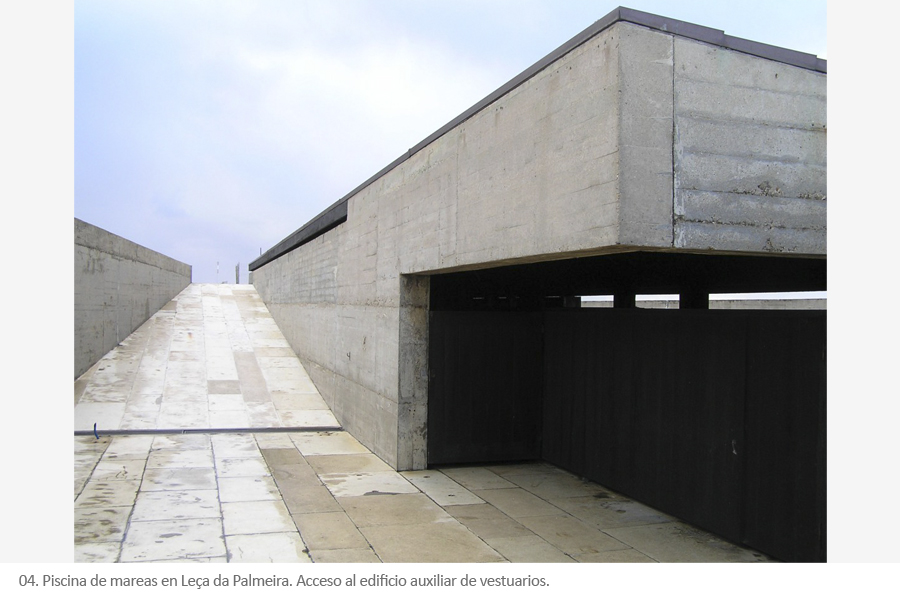 Piscina de mareas - Alvaro Siza en Leça