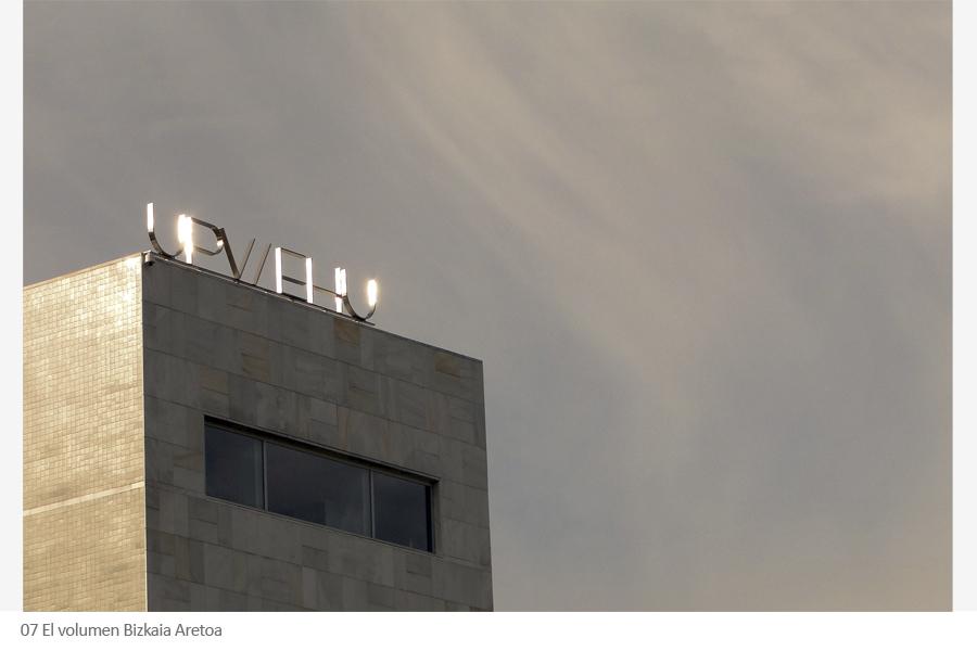 Bizkaia Aretoa paraninfo UPV-EHU de Álvaro siza en Bilbao.