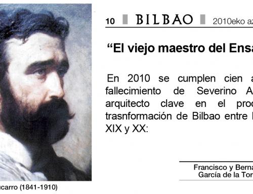 Artículo sobre Severino Achucarro de García de la Torre arquitectos