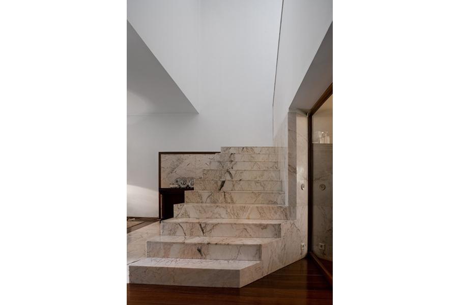 Interior de Casa Avelino Duarte, Alvaro Siza. Ovar (Portugal).1980-1984