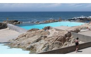 piscina de mareas de Leça