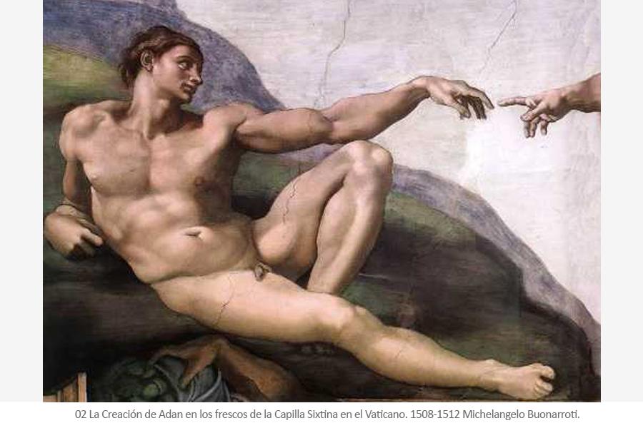 capilla sixtina - Michelangelo Buonarroti - Miguel Angel