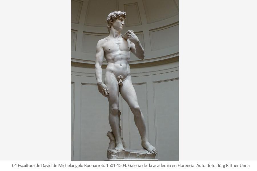 David - Michelangelo Buonarroti - Miguel Ángel
