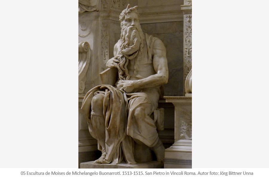 Mosies - Michelangelo Buonarroti - Miguel Ángel
