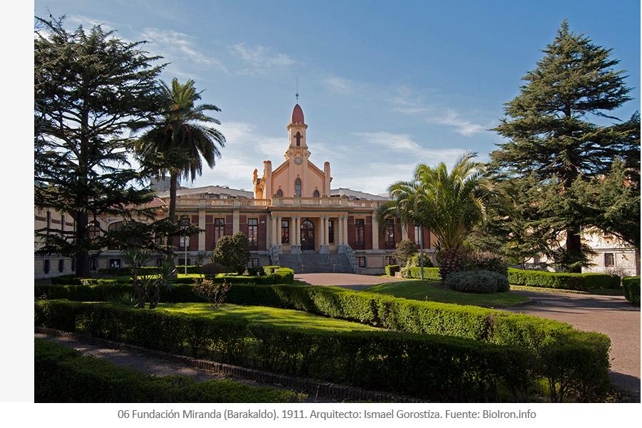 Fundación Miranda Barakaldo 1911