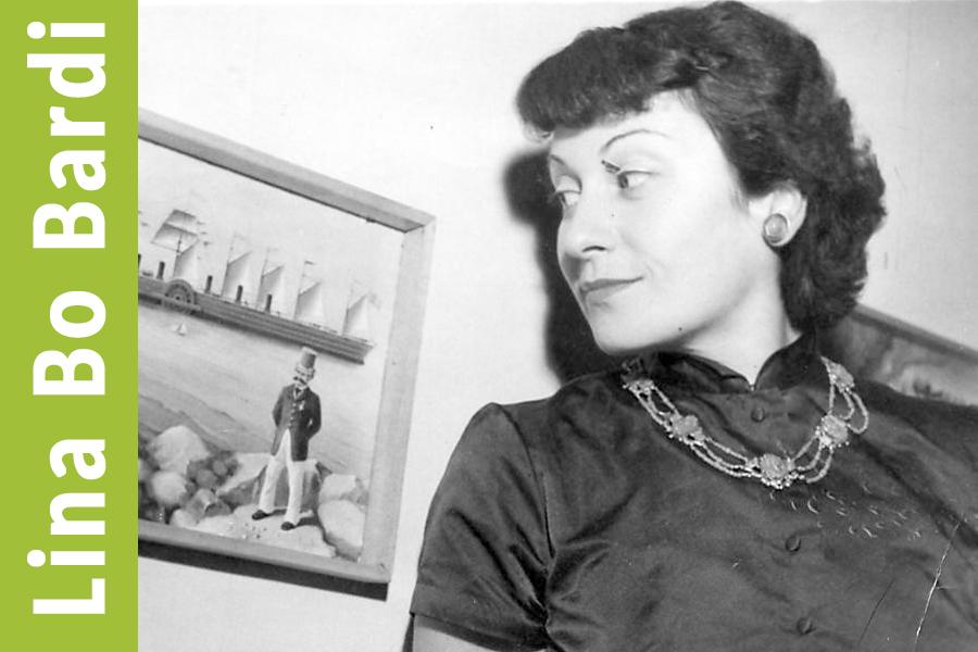 Retrato de Lina Bo Badi, 1952. Fuente de la imagen Folha de Sao Paulo