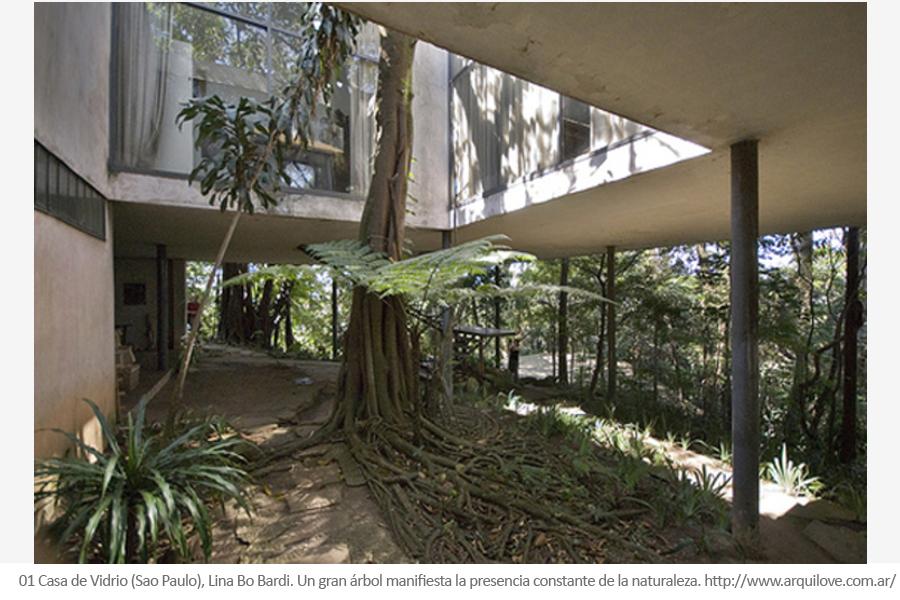 Lina Bo Bardi - casa de vidrio