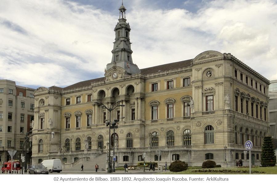 Ayuntamiento de Bilbao. Arquitecto Joaquín Rucoba