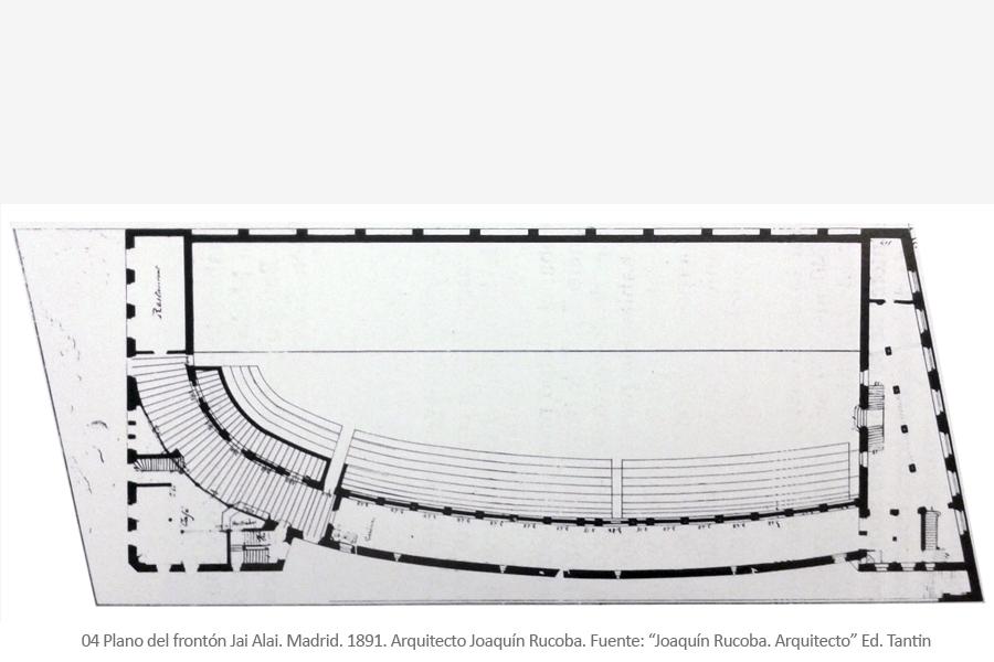 Frontón Jai Alai. Madrid. Arquitecto Joaquín Rucoba