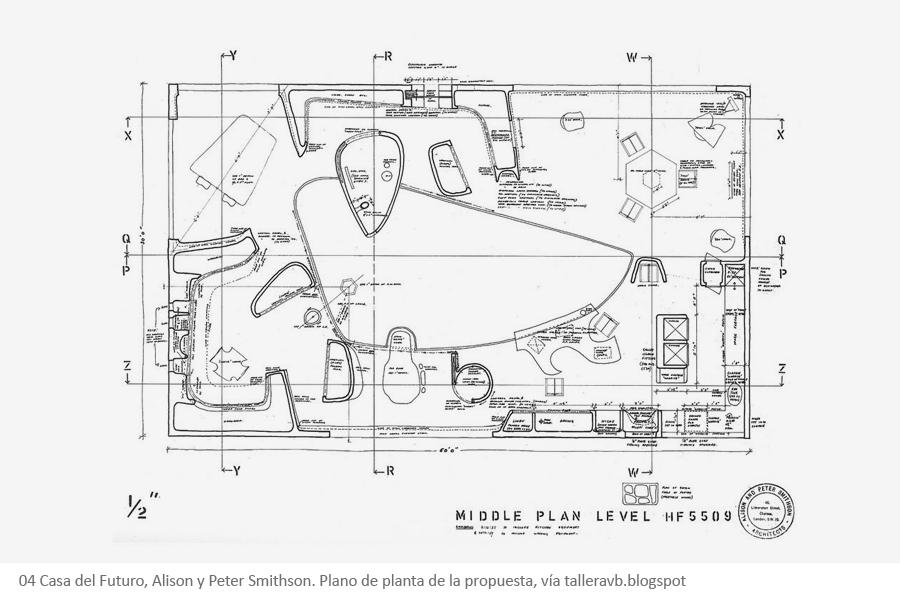 casa del futuro aliso y Peter Smithson