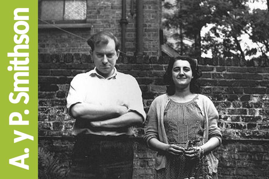01 Alison y Peter Smithson. Un matrimonio que revolucionó la forma de pensar la arquitectura en la Inglaterra de postguerra.