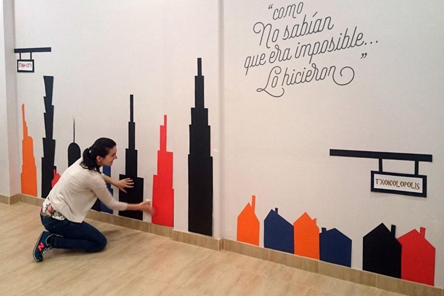 Soñando rascacielos en TXOKOlate