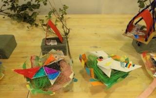 "Taller infantil ""Casas en los árboles"" en TXOKOlate con ArkiKultura"