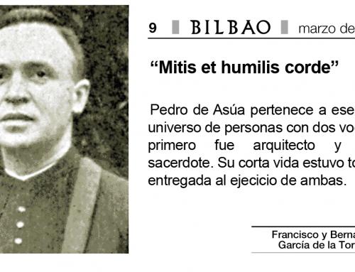 """""""Mitis et humilis corde"""" artículo sobre Pedro de Asúa de García de la Torre arquitectos en el periódico Bilbao"""