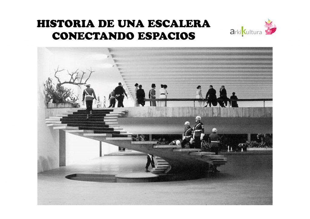 Historia de una escalera: conectando espacios